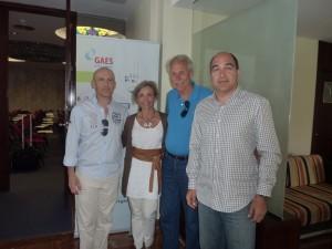 Algunos de los ponentes del IV Curso de Patología del Buceo en ORL