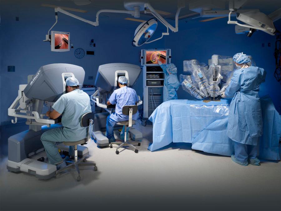cirugia robotica orl - otorrino